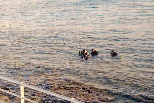 Scubba diving