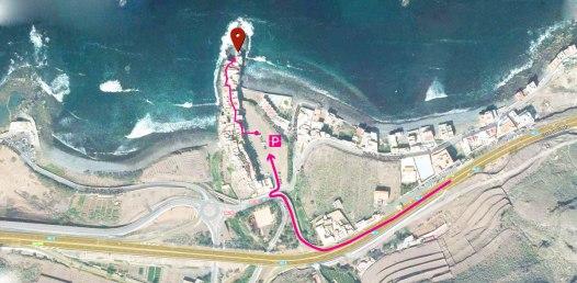 Mapa Locanda El Roque